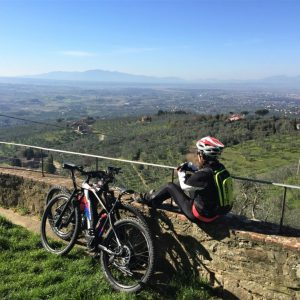 VInci bike tour - Relaxing view