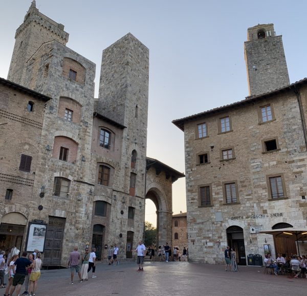 Via Francigena - San Gimignano city center