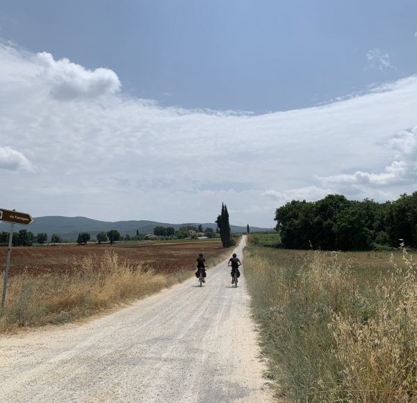 Via Francigena - Tuscany white roads