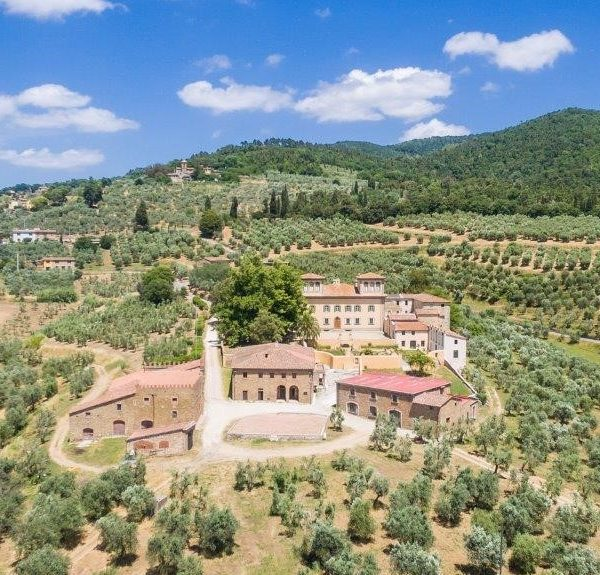 Tuscany Bike Tour - View from drone