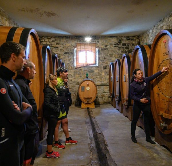 Tuscany bike wine tour - Verrazzano Castle