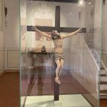 Badia a Passignano - Crucifix in linden wood by Michelangelo