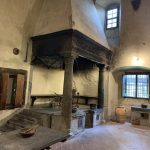 Badia a Passignano - kitchen for 100 friars