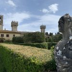 Badia a Passignano - A view from the Italian style garden