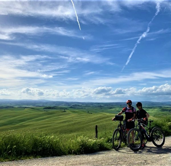 Crete Senesi - Biking in Couple