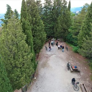 Fiesole - Mount Ceceri from drone