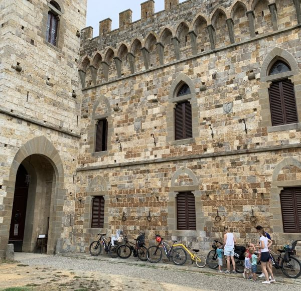 Chianti bike tour - Bikes in the abbey