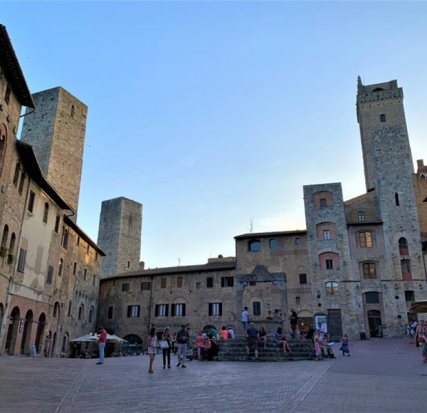 San Gimignano... the Manhattan of middle age