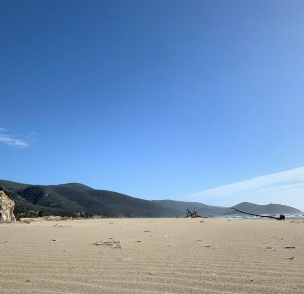 Maremma National Park - free beach